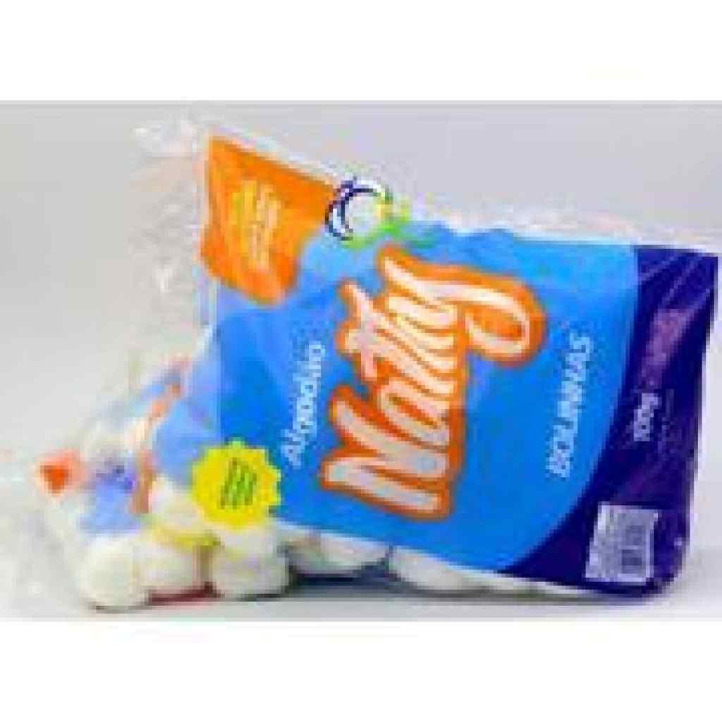 Amparar BH - algodão em bola branco nathy 100 g - Algodão Macio e Super Absorvente.100 G