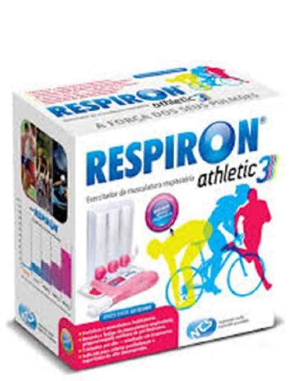 Amparar BH - Respiron Athletic 3 Exercitador e Incentivador Respiratório - NCS - Respiron Athletic 3 Exercitador e Incentivador Respiratório - NCS