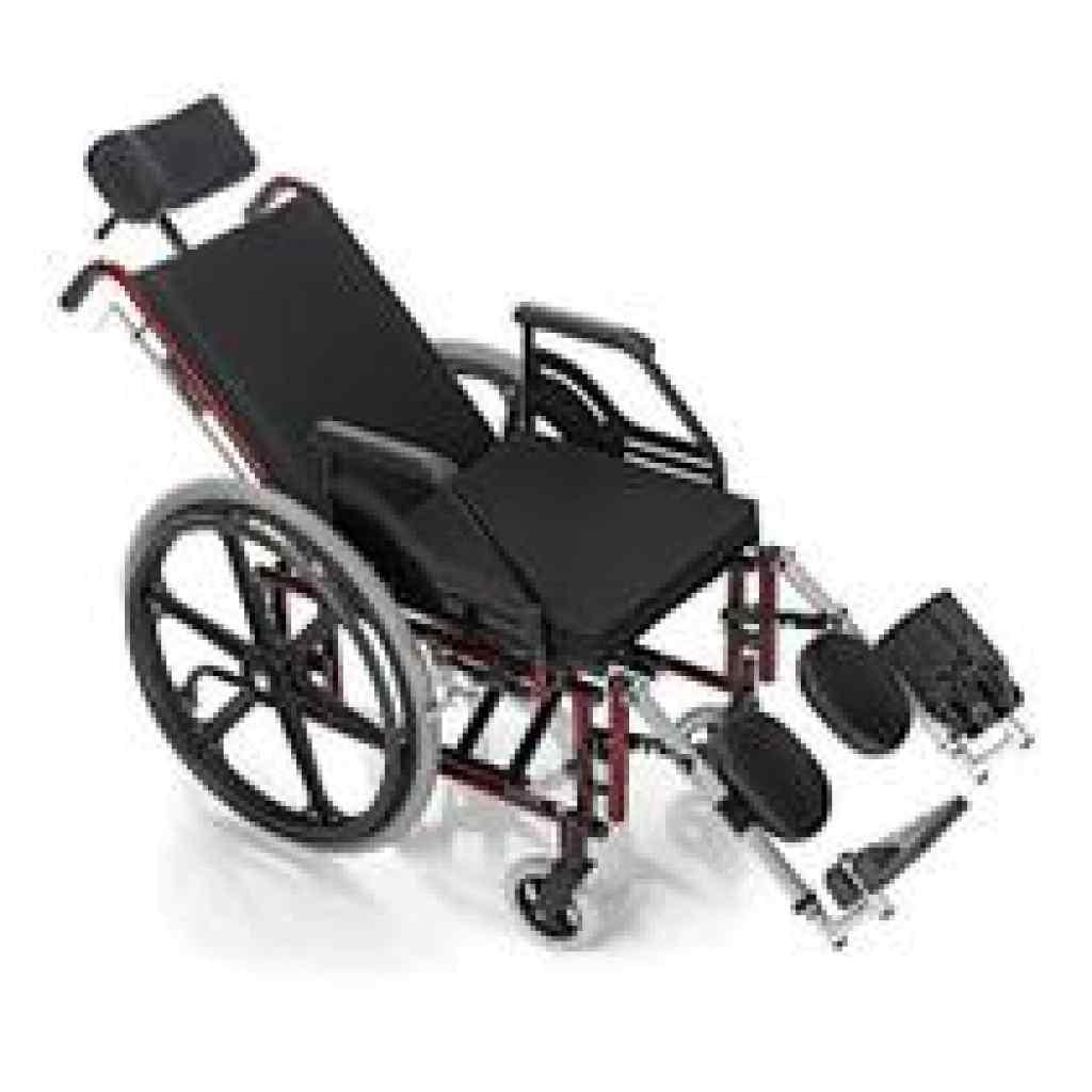 Amparar BH - Cadeira de Rodas Reclinável Confort Tetra 44cm Pneu Inflável - Prolif- ALUGUEL POR 30 DIAS 180,00 - Cadeira de Rodas Reclinável Confort Tetra 44cm Pneu Inflável - Prolife
