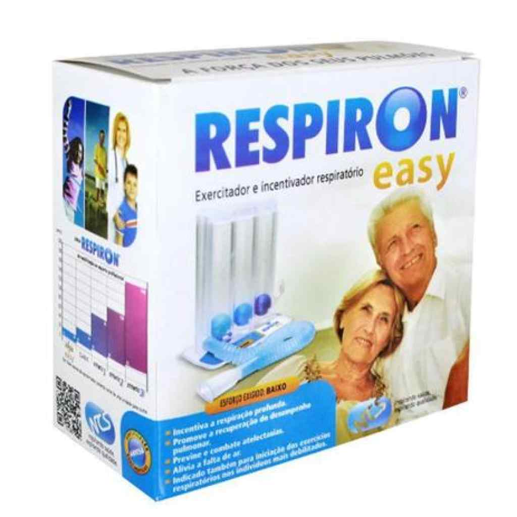 Amparar BH - Aparelho para Fisioterapia Respiratória Respiron Easy Baixo - Aparelho para Fisioterapia Respiratória Respiron Easy Baixo