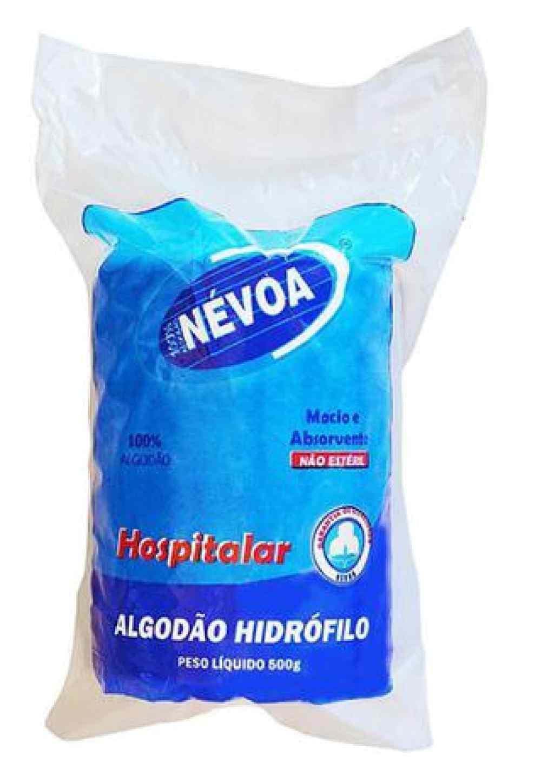 Amparar BH - Algodão hidrófilo 500g - nevoa - Algodão hidrófilo 500g - nevoa