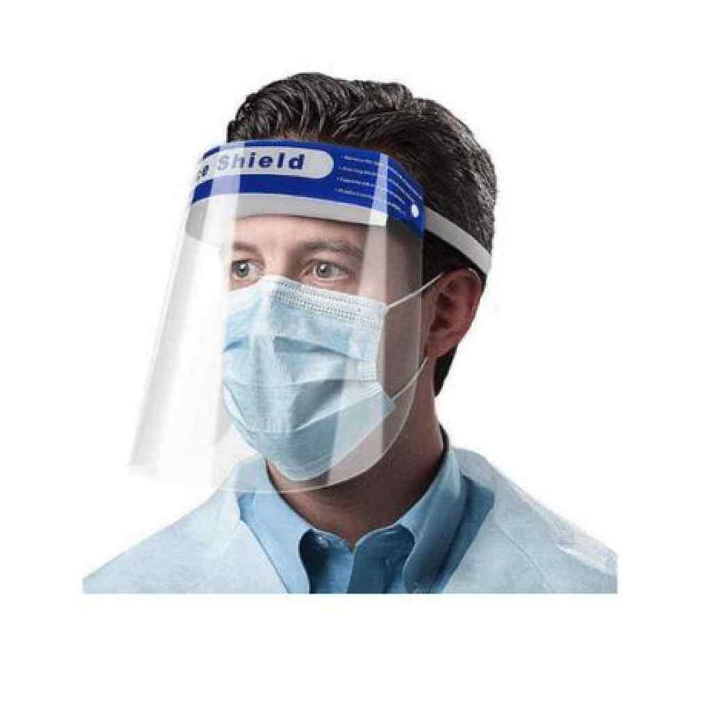 Amparar BH - Máscara protetora facial anti respingo face shield supermedy - Máscara protetora facial anti respingo face shield supermedy