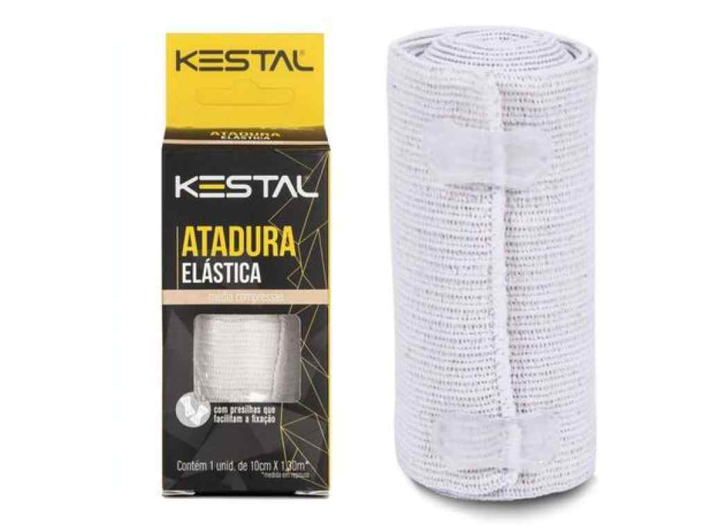 Amparar BH - Atadura Elástica 10cm x 1,30m Média Compressão - Kestal - Atadura Elástica 10cm x 1,30m Média Compressão - Kestal