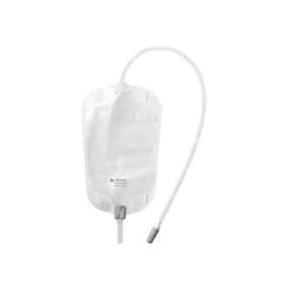 Amparar BH - Bolsa Coletora de Urina Estéril (de Perna) 500ml Tubo 50cm - Conveen Security - Coloplast 5163 - Bolsa Coletora de Urina Estéril (de Perna) 600ml