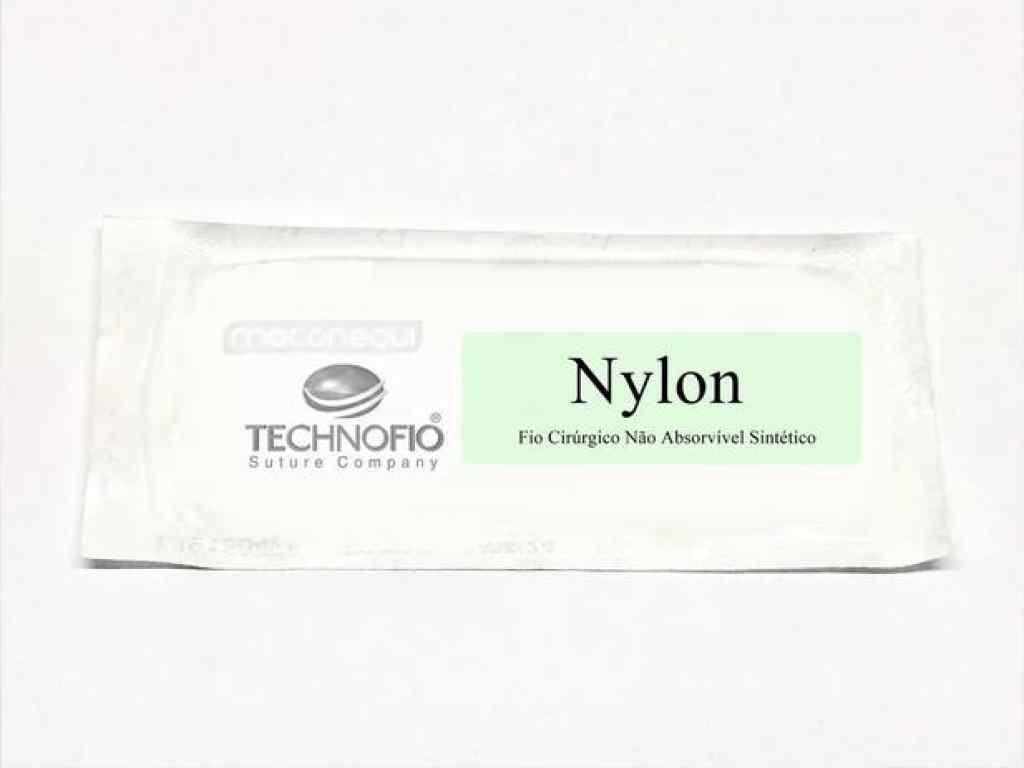 Amparar BH - FIO DE SUTURA NYLON 2.0 - THECNOFIO - FIO DE SUTURA NYLON 2.0 - THECNOFIO